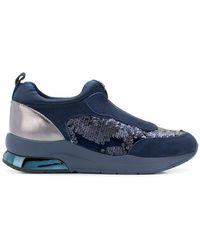 Liu Jo - Mixed Textile Sneakers - Lyst