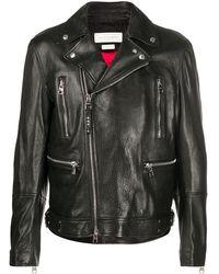 Alexander McQueen ライダースジャケット - ブラック