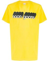 Noon Goons ロゴ Tシャツ - イエロー