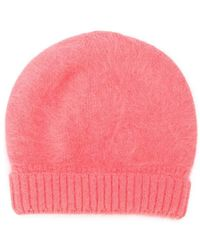 Roberto Collina - Knitted Beanie Hat - Lyst