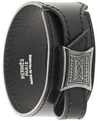 Hermès 1998 Touareg Armband - Schwarz