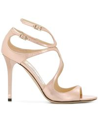 Jimmy Choo - Lang 100 Strappy Sandals - Lyst