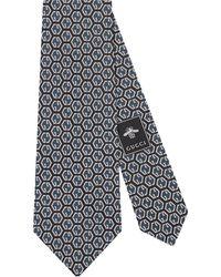Gucci - GG Rhombus Silk Tie - Lyst