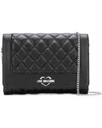 Love Moschino - Quilted Clutch - Lyst