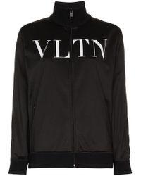 Valentino - Vltn Print Track Jacket - Lyst