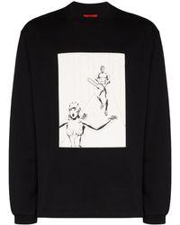 424 ロングtシャツ - ブラック