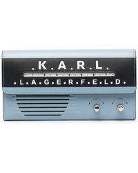 Karl Lagerfeld - Кошелек Radio С Откидным Клапаном - Lyst