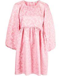 Stine Goya レオパード ドレス - ピンク