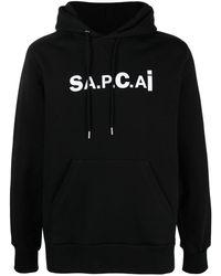 A.P.C. X Sacai 'talyo' パーカー - ブラック