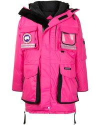 Canada Goose Snow Mantra パデッドコート - ピンク