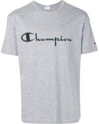 Paolo Pecora - Champion Logo T-shirt - Lyst