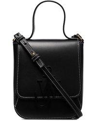 JW Anderson Anchor Logo Shoulder Bag - Black
