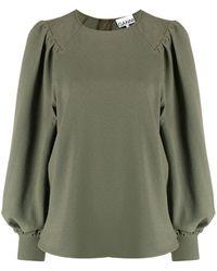 Ganni - オーバーサイズ スウェットシャツ - Lyst