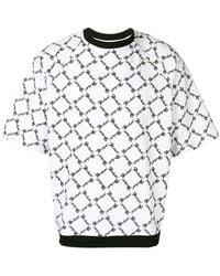 KTZ スクエアプリント Tシャツ - マルチカラー