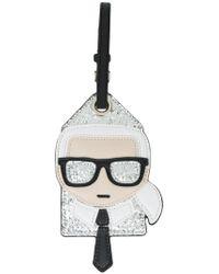 Karl Lagerfeld - Ikonik Karl Luggage Tag - Lyst