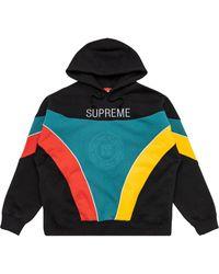 Supreme Sudadera con capucha y logo Milan - Negro