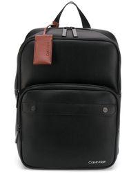 Calvin Klein - Zip-around Logo Backpack - Lyst