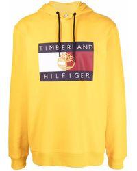 Tommy Hilfiger X Timberland ロゴプリント パーカー - マルチカラー