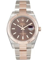 Rolex - Наручные Часы Oyster Perpetual Datejust Pre-owned 41 Мм - Lyst