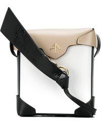 MANU Atelier Mini Pristine Crossbody Bag - White