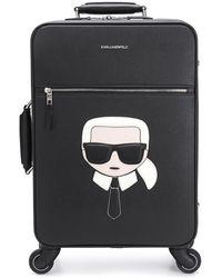 Karl Lagerfeld K/ikonik スーツケース - ブラック
