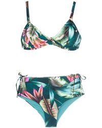 Lygia & Nanny Marcela Estampado Bikini - Green