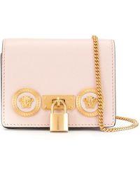 Versace Mini Icon Crossbody Bag - Pink
