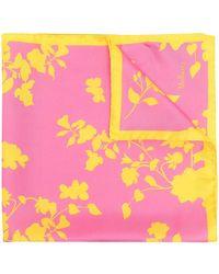 Mulberry Платок С Цветочным Принтом - Розовый