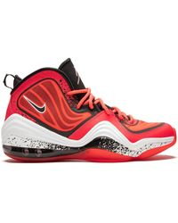 Nike Air Penny 5 Lil Shoes - Size 8 - Red