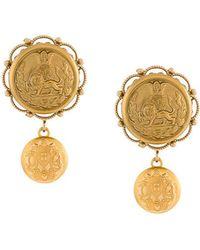 Dolce & Gabbana - Galvanized Earrings - Lyst