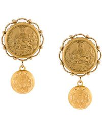 Dolce & Gabbana | Galvanized Earrings | Lyst