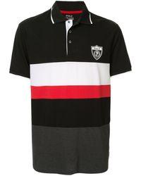Ralph Lauren Poloshirt Met Print - Zwart