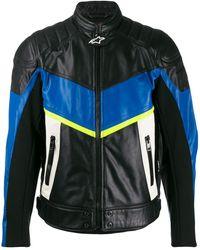 DIESEL X Alpinestars Astars-ldue Biker Jacket - Black