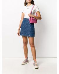 Polo Ralph Lauren コントラストステッチ ポロシャツ - ホワイト