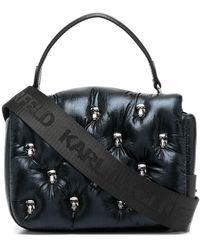Karl Lagerfeld Дутая Сумка-тоут K/ikonik 3d - Черный