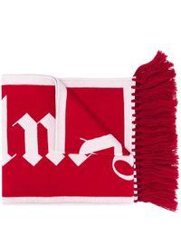 Palm Angels Шарф С Логотипом - Красный