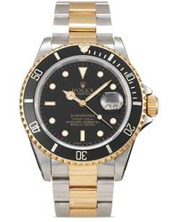 Rolex 1993 Pre-owned Submariner 40mm - Black