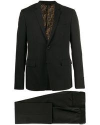 Fendi ツーピース スーツ - ブラック