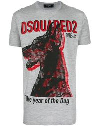 DSquared² - プリント Tシャツ - Lyst