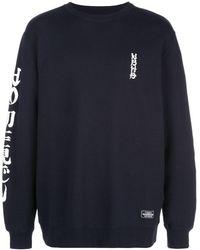 Neighborhood ロゴ スウェットシャツ - ブルー