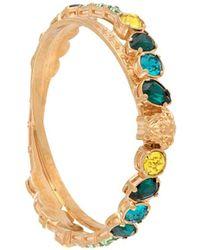 Versace Crystal embellished bangle - Multicolore