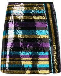 Giamba - Short Paillette Skirt - Lyst