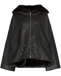 Totême Annecy Leather Jacket - Black
