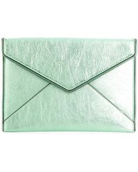 Rebecca Minkoff - Envelope Shaped Clutch - Lyst