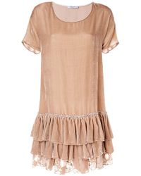 Blumarine - Wide Cut Dress - Lyst