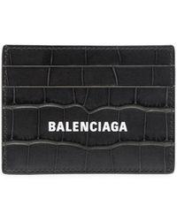 Balenciaga カードケース - グレー