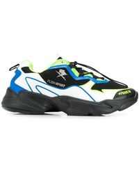 Philipp Plein Chunky Sneakers - Zwart