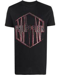 Philipp Plein Футболка С Логотипом - Черный