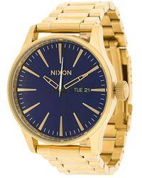 Nixon Sentry Watch - Metallic