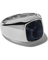 David Yurman - Exotic Stone Pietersite Signet Ring - Lyst